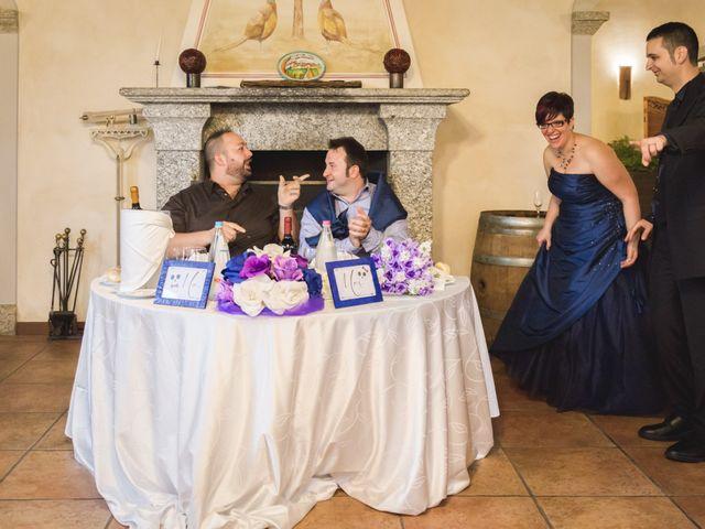 Il matrimonio di Valerio e Silvia a Lomagna, Lecco 68