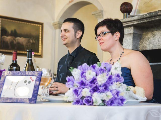 Il matrimonio di Valerio e Silvia a Lomagna, Lecco 69