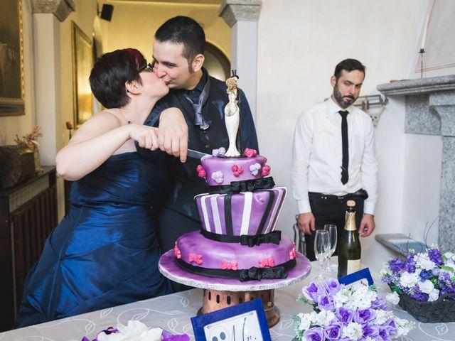 Il matrimonio di Valerio e Silvia a Lomagna, Lecco 85