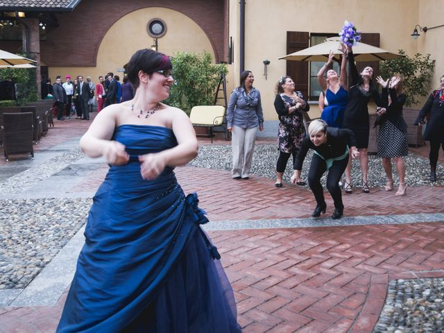 Il matrimonio di Valerio e Silvia a Lomagna, Lecco 89