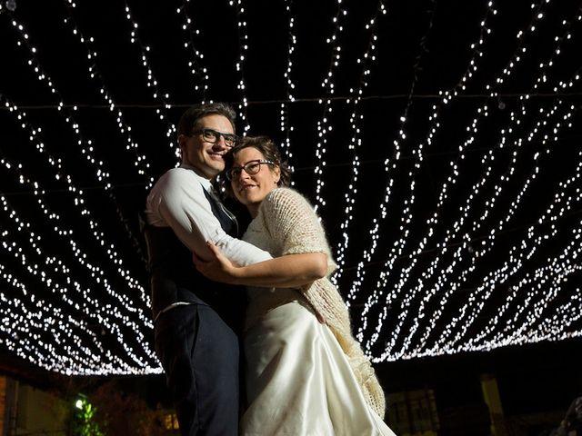 le nozze di Michela e Alberto