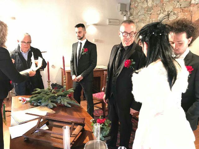 Il matrimonio di Davide  e Antonietta  a Murlo, Siena 4