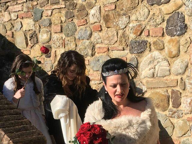 Il matrimonio di Davide  e Antonietta  a Murlo, Siena 6