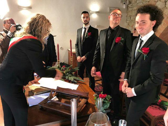 Il matrimonio di Davide  e Antonietta  a Murlo, Siena 7