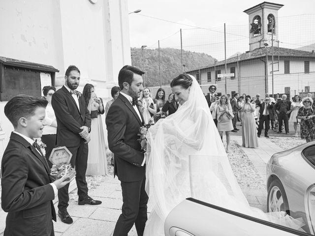 Il matrimonio di Emanuele e Elisa a Capriolo, Brescia 35
