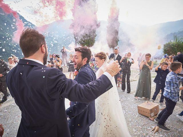Il matrimonio di Emanuele e Elisa a Capriolo, Brescia 43
