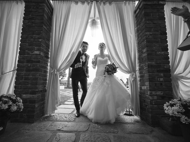 Il matrimonio di Emanuele e Elisa a Capriolo, Brescia 49
