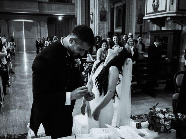 Il matrimonio di Giuseppe e Sara a Roncoferraro, Mantova 15