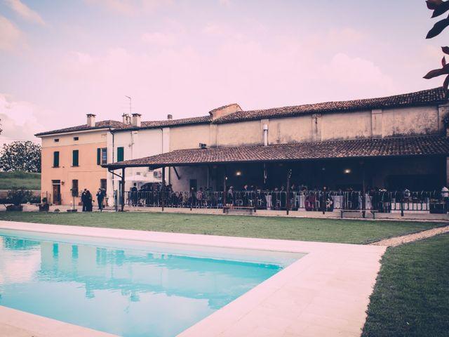 Il matrimonio di Giuseppe e Sara a Roncoferraro, Mantova 25