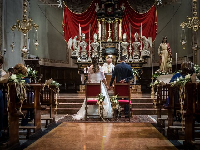 Il matrimonio di Riccardo e Sara a Malnate, Varese 32