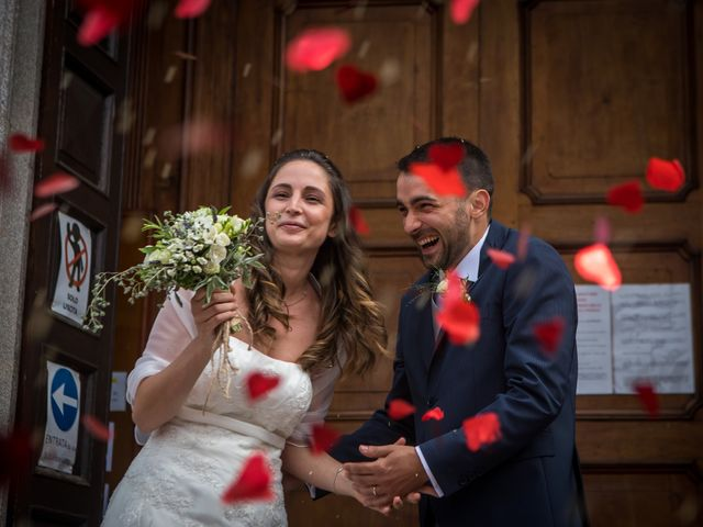 Il matrimonio di Riccardo e Sara a Malnate, Varese 37