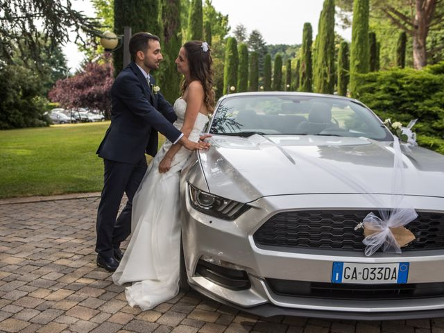 Il matrimonio di Riccardo e Sara a Malnate, Varese 44