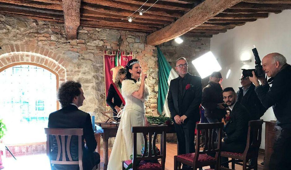 Il matrimonio di Davide  e Antonietta  a Murlo, Siena
