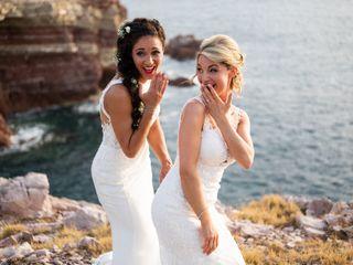 Le nozze di Milena e Leanne