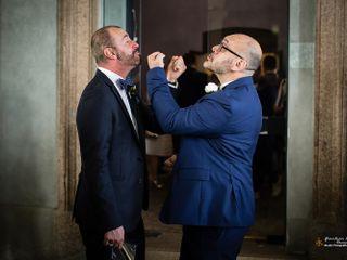 Le nozze di Davide e Stefano