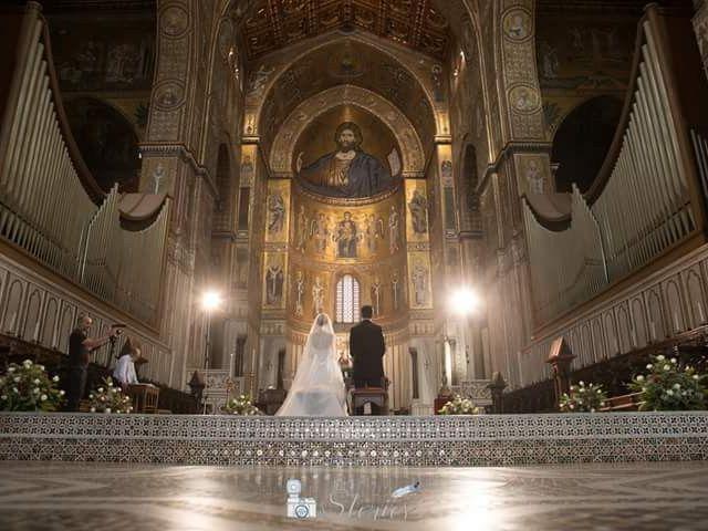 """Il matrimonio di Emanuela """"Jolie Rouge"""" e Roberto """"Bob"""" a Monreale, Palermo 5"""