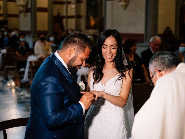Il matrimonio di Giancarlo e Chiara a Cortona, Arezzo 27