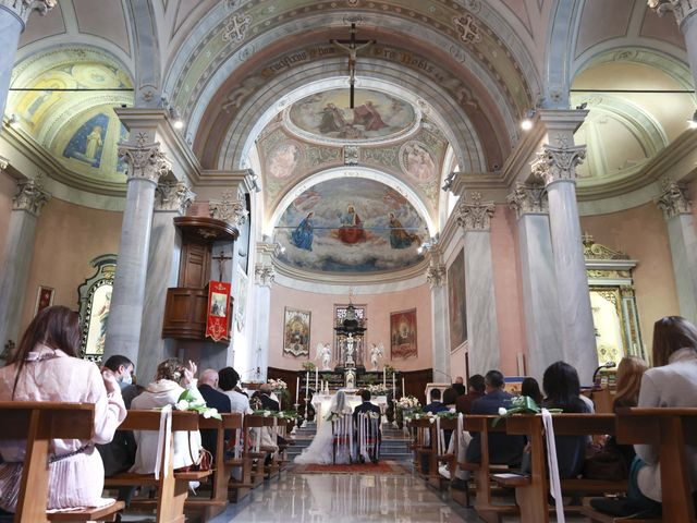 Il matrimonio di Valerio e Claudia a Vanzago, Milano 17