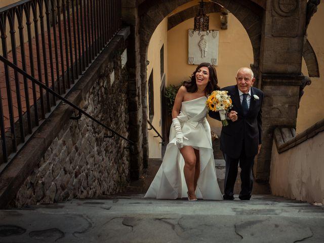 Il matrimonio di Simone e Barbara a Montecarlo, Lucca 27