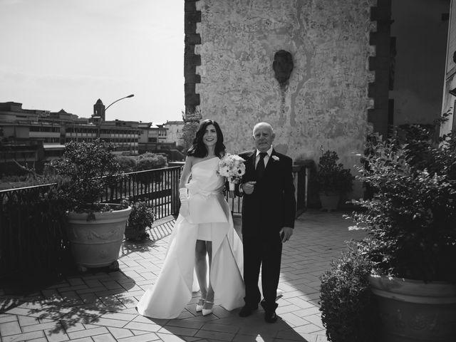 Il matrimonio di Simone e Barbara a Montecarlo, Lucca 28