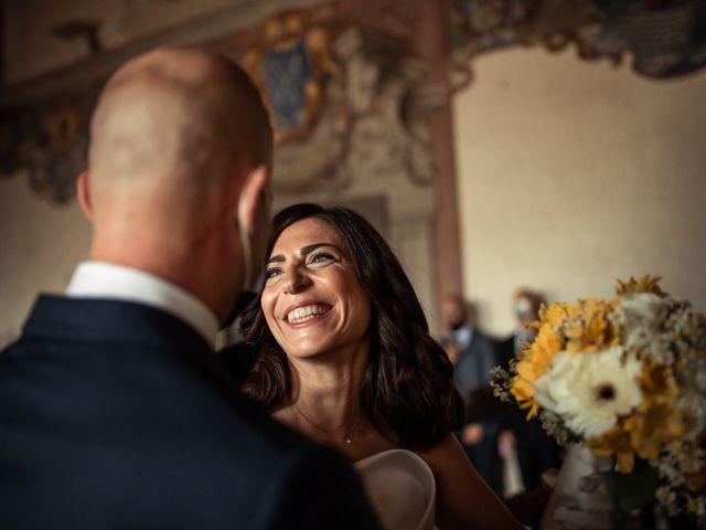 Il matrimonio di Simone e Barbara a Montecarlo, Lucca 31
