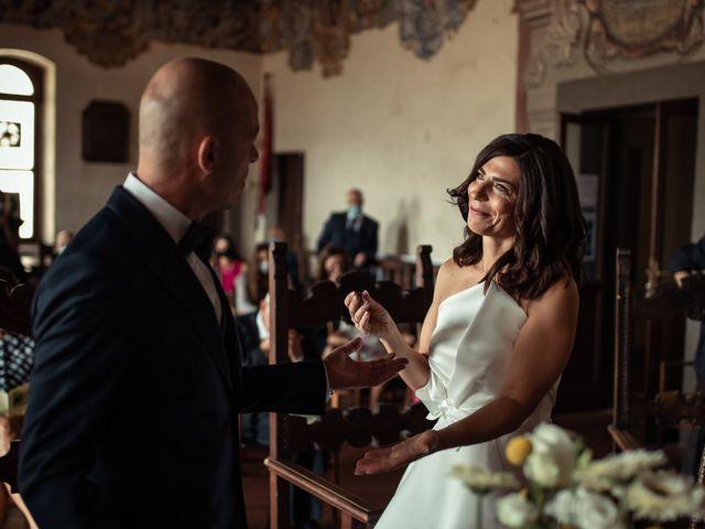Il matrimonio di Simone e Barbara a Montecarlo, Lucca 32