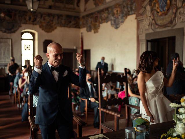 Il matrimonio di Simone e Barbara a Montecarlo, Lucca 33