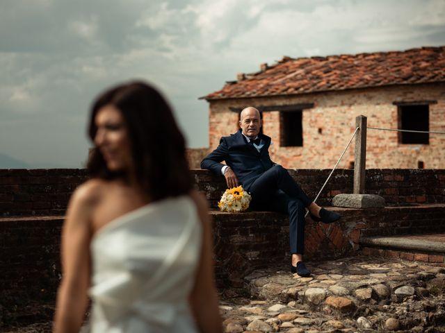 Il matrimonio di Simone e Barbara a Montecarlo, Lucca 40