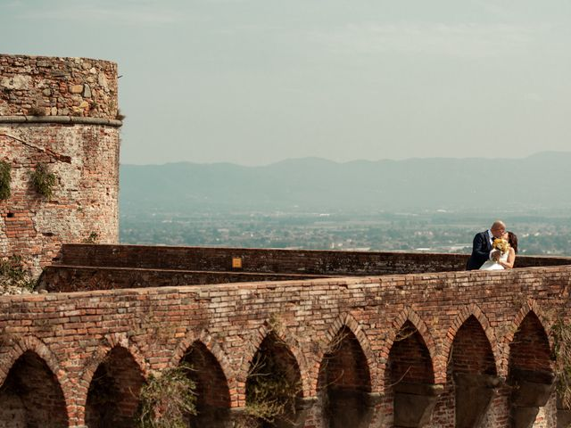 Il matrimonio di Simone e Barbara a Montecarlo, Lucca 42