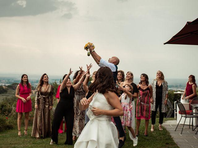 Il matrimonio di Simone e Barbara a Montecarlo, Lucca 50