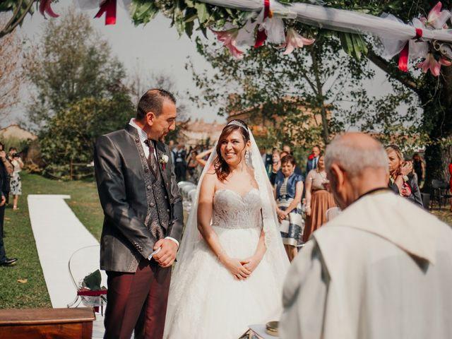 Il matrimonio di Marco e Vania a Trino, Vercelli 32