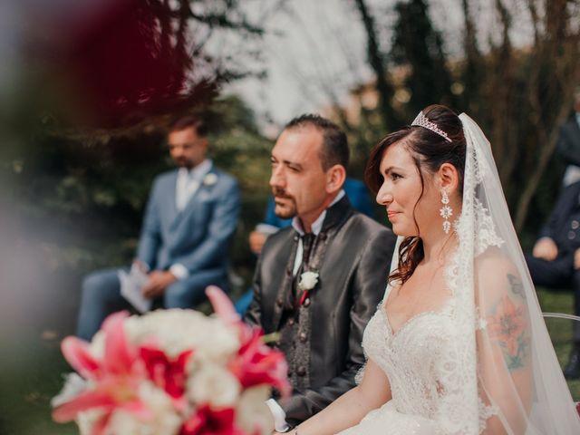 Il matrimonio di Marco e Vania a Trino, Vercelli 34