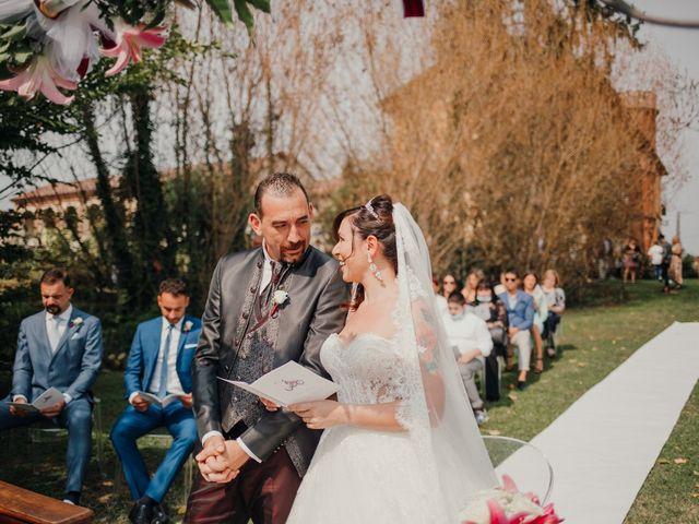 Il matrimonio di Marco e Vania a Trino, Vercelli 35