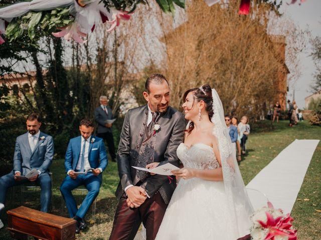 Il matrimonio di Marco e Vania a Trino, Vercelli 36