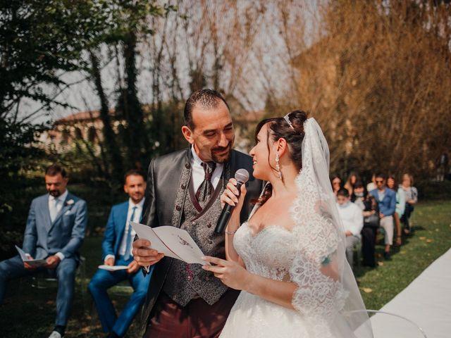 Il matrimonio di Marco e Vania a Trino, Vercelli 37
