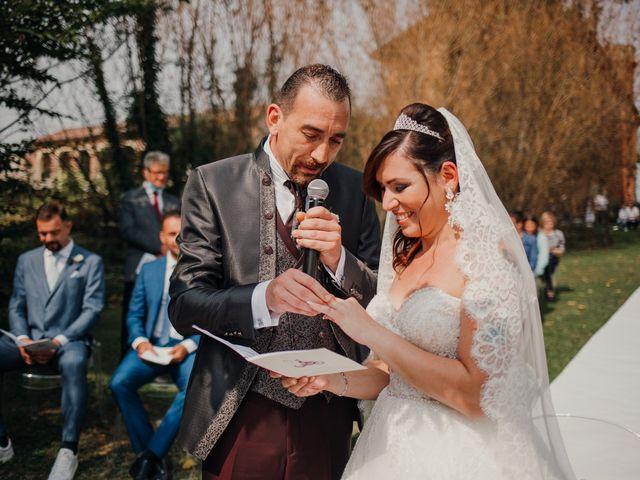 Il matrimonio di Marco e Vania a Trino, Vercelli 38