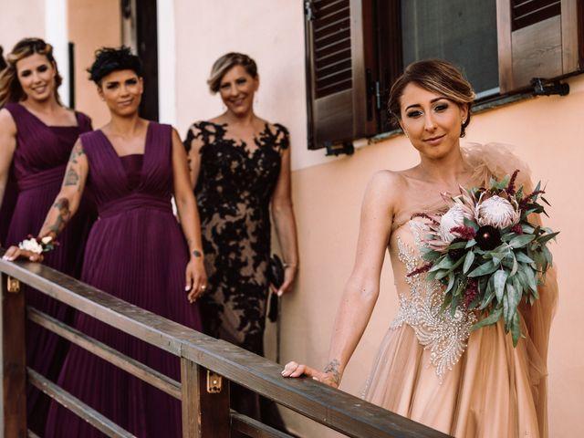 Il matrimonio di Gianmarco e Valentina a Ponzano Romano, Roma 7