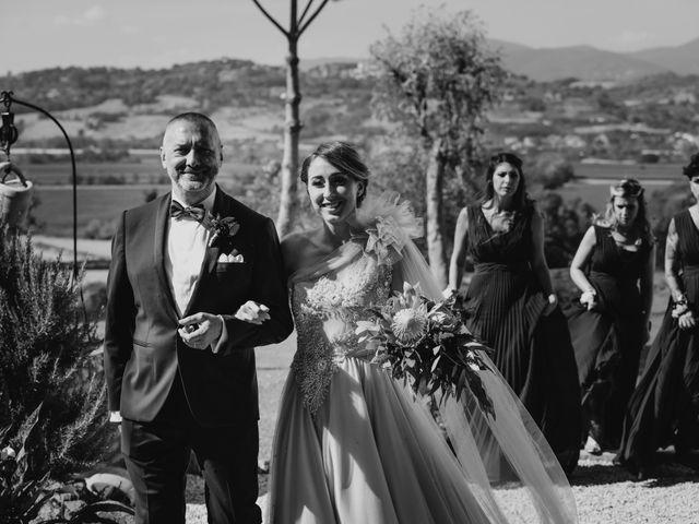 Il matrimonio di Gianmarco e Valentina a Ponzano Romano, Roma 8
