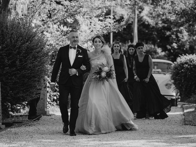 Il matrimonio di Gianmarco e Valentina a Ponzano Romano, Roma 9