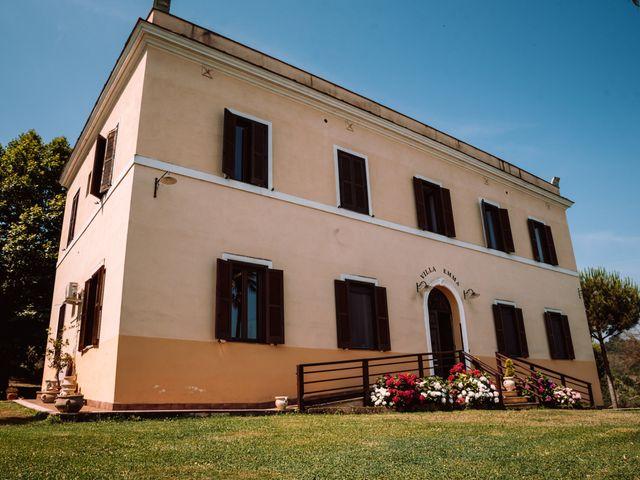Il matrimonio di Gianmarco e Valentina a Ponzano Romano, Roma 12