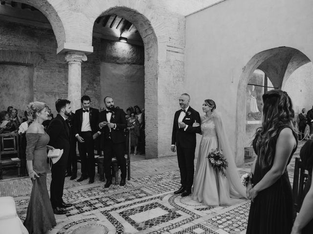 Il matrimonio di Gianmarco e Valentina a Ponzano Romano, Roma 30