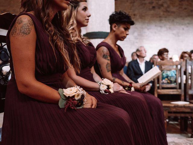 Il matrimonio di Gianmarco e Valentina a Ponzano Romano, Roma 32