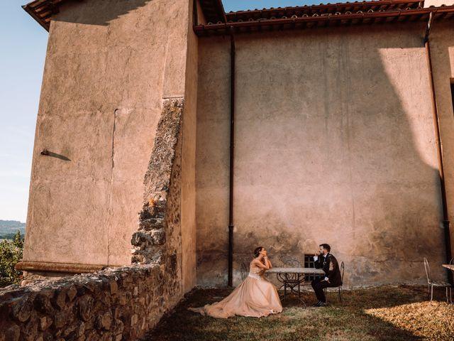 Il matrimonio di Gianmarco e Valentina a Ponzano Romano, Roma 35