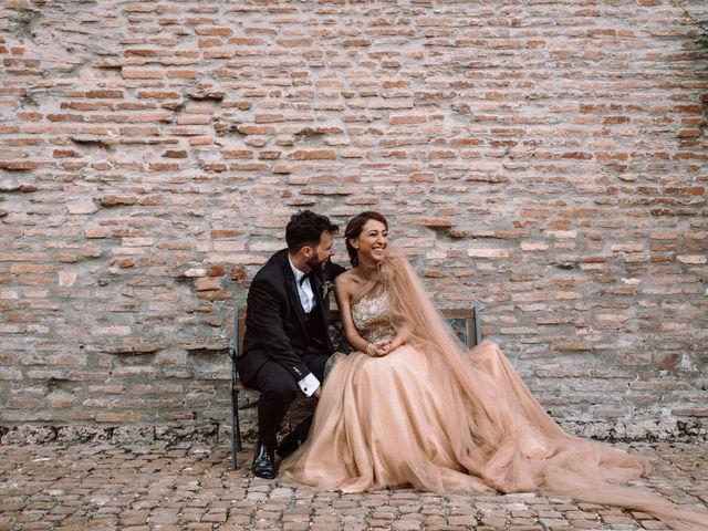 Il matrimonio di Gianmarco e Valentina a Ponzano Romano, Roma 36
