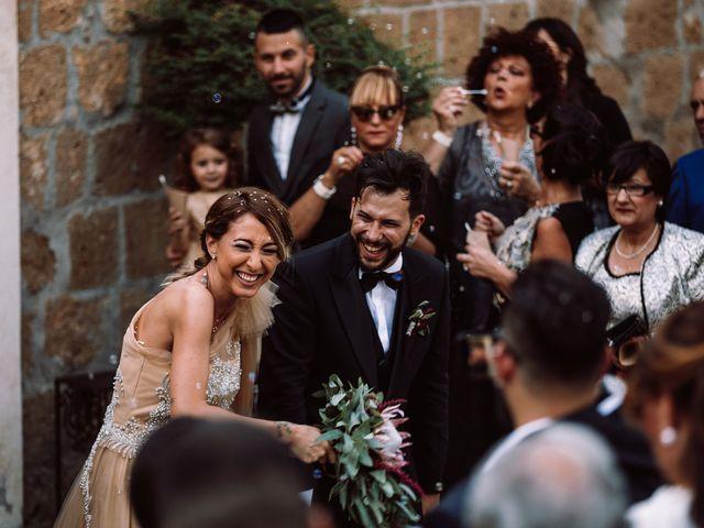 Il matrimonio di Gianmarco e Valentina a Ponzano Romano, Roma 62