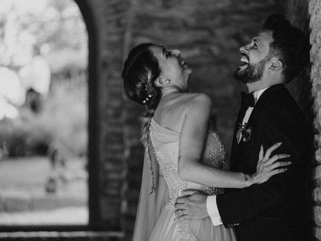 Il matrimonio di Gianmarco e Valentina a Ponzano Romano, Roma 63