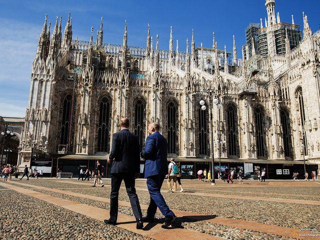 Il matrimonio di Stefano e Davide a Milano, Milano 21
