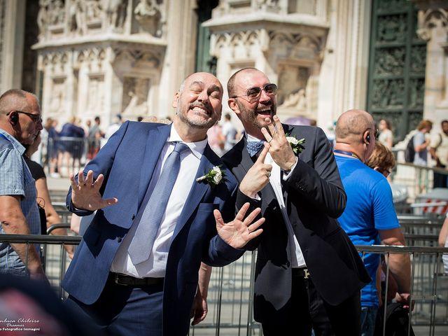 Il matrimonio di Stefano e Davide a Milano, Milano 23