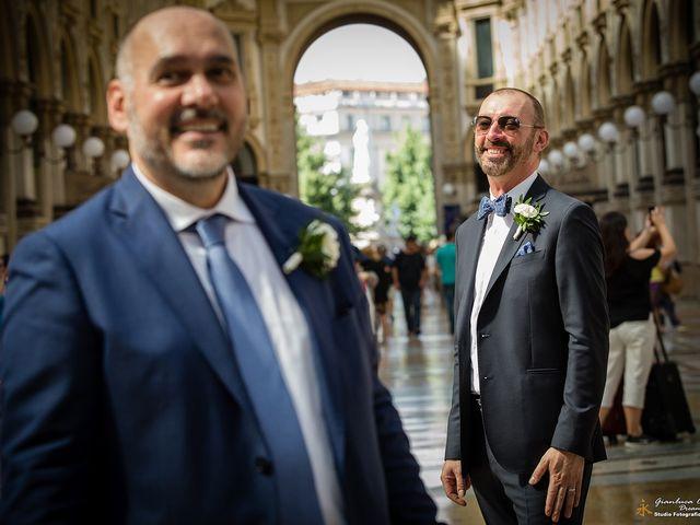 Il matrimonio di Stefano e Davide a Milano, Milano 32