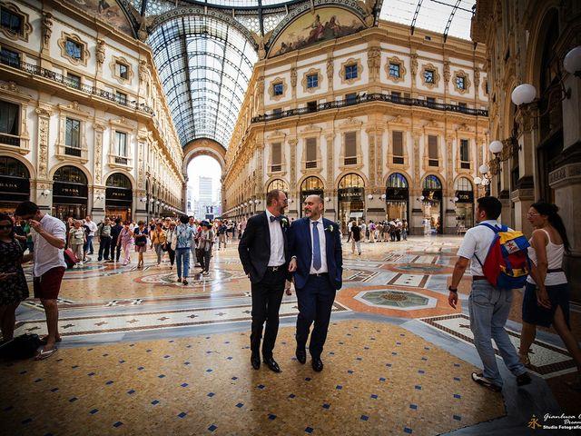 Il matrimonio di Stefano e Davide a Milano, Milano 34